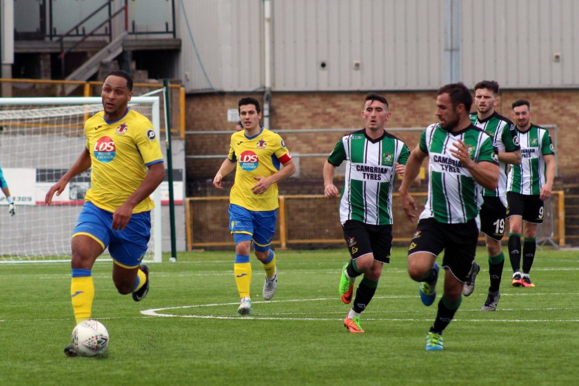 Barry Town vs Aber