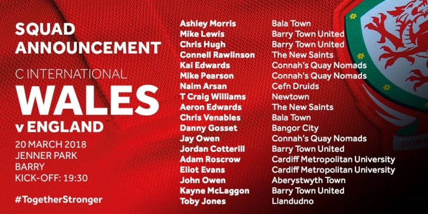 Wales_C_International_Squad